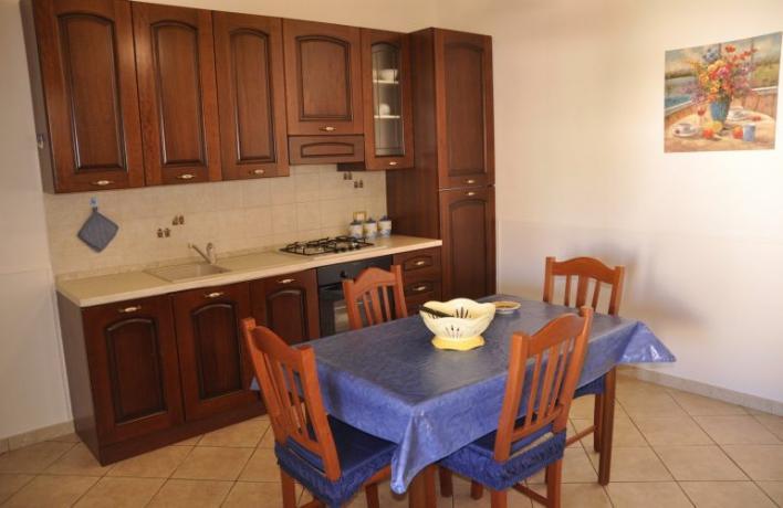 Appartamento per vacanze con cucina attrezzata San-Vito-lo-Capo