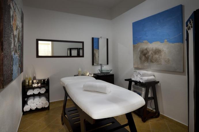 Area massaggi al Centro Benessere Hotel a Orosei
