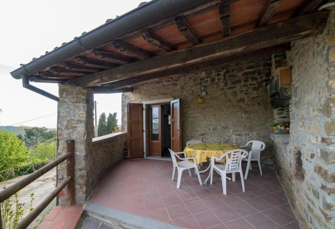 Vicino Firenze: Azienda-Agrituristica con Terrazza Panoramica