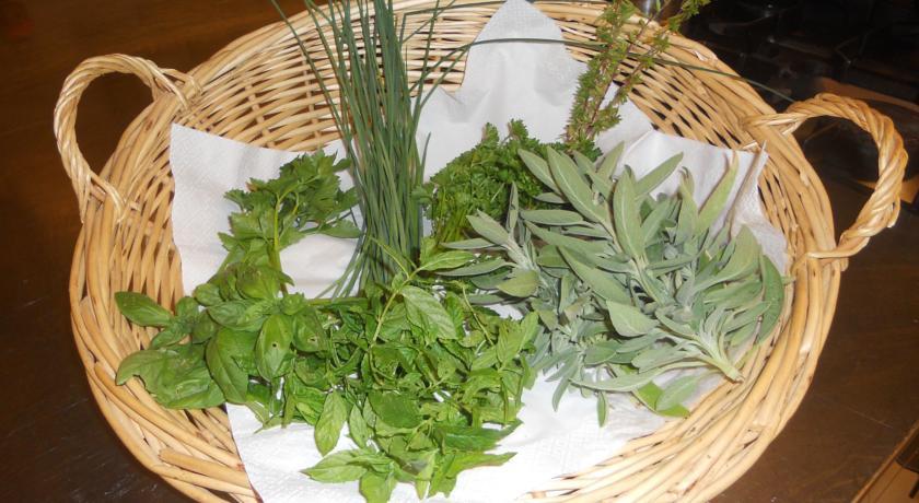 Prodotti coltivati nell'orto dell'agriturismo