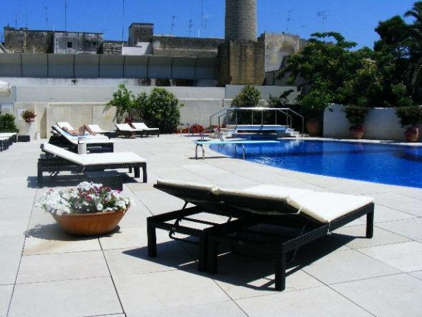 Hotel con Piscina e Centro Benessere-Lecce