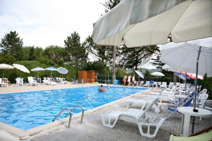Villa vacanze a Gubbio con piscina