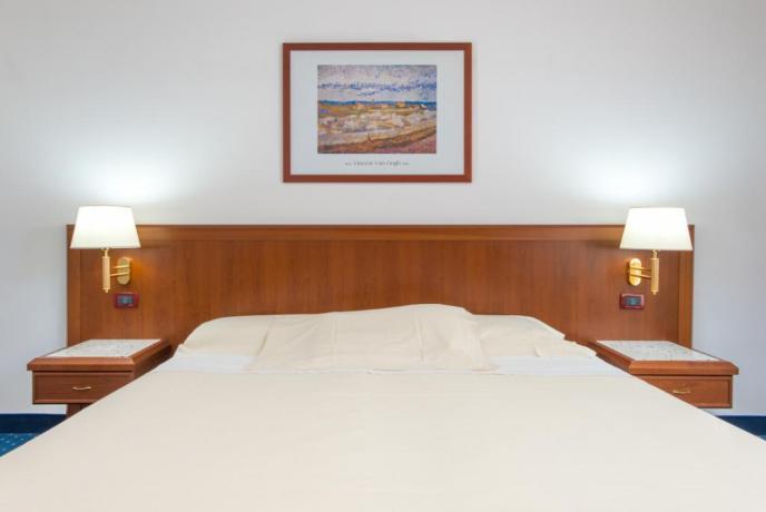Hotel 4 stelle Rende, matrimoniale servizio in camera
