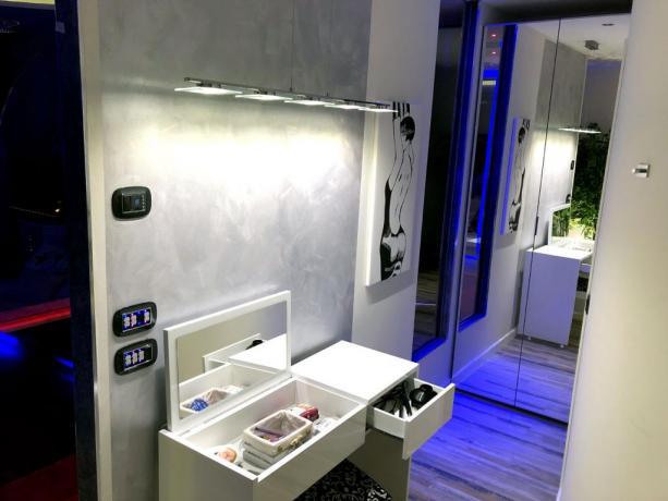camera spa-suite con Angolo Trucco dedicato