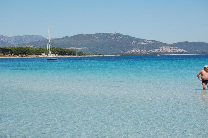 Spiagge incontaminate nel porto di Olbia