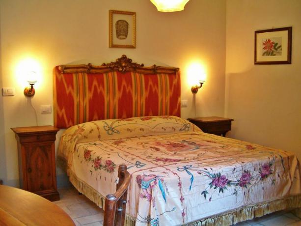 Villa a Perugia con romantica camera matrimoniale