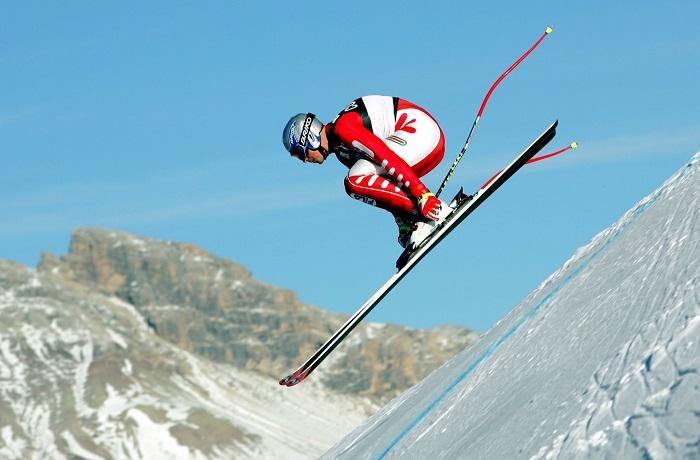 Giochi sugli scii a Bardonecchia