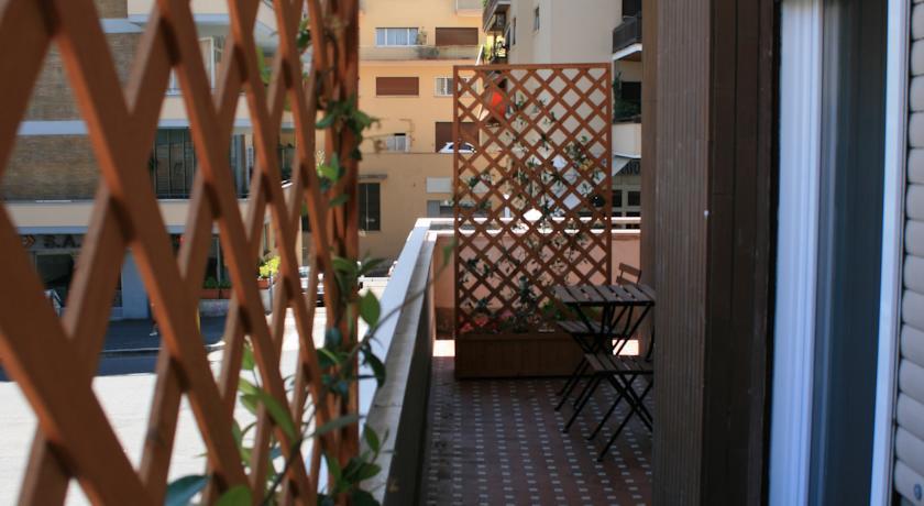 Terrazza appartamento B&B a Roma