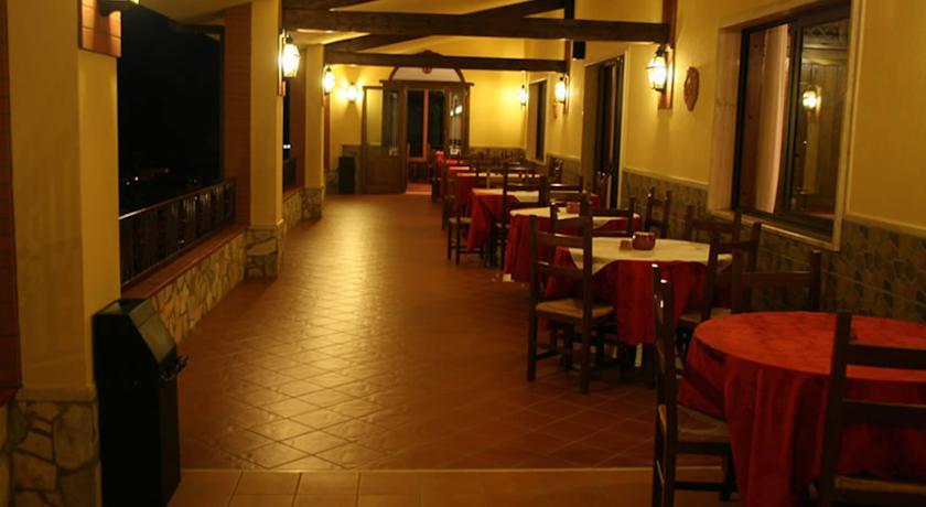 Sala Ristorante dell'Hotel Tortora