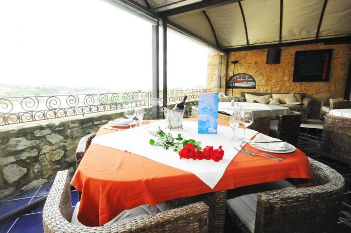 Albergo Alcamo, Terrazza sala colazione/bar/ristorante