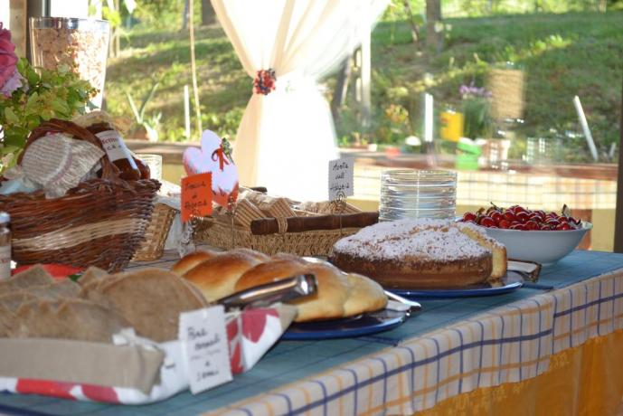 B&B in Agriturismo vicino Perugia con prodotti tipici