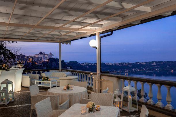 Hotel Vista Lago Albano a Castel Gandolfo