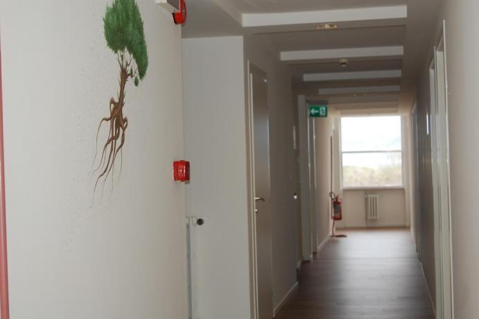 Corridoi piani Hotel Flaminia