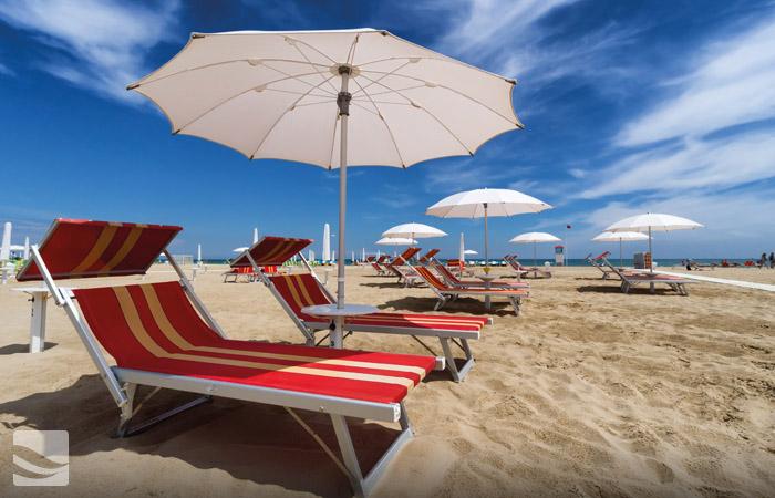 Hotel con Spiaggia convenzionata a Rimini