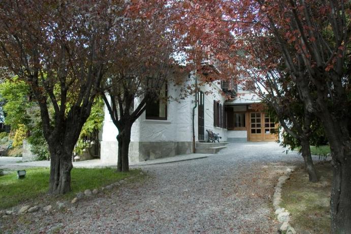 Villa-vacanze Bardonecchia con giardino privato