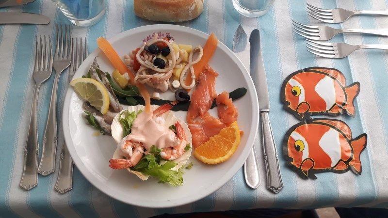 Cucina piatti tipici di pesce Hotel a Misano