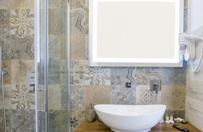 Appartamento per vacanze San-Vito-lo-Capo con bagno-privato moderno