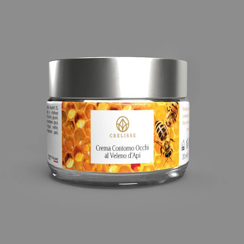 Crema Veleno d'Api Antirughe - Contorno Occhi