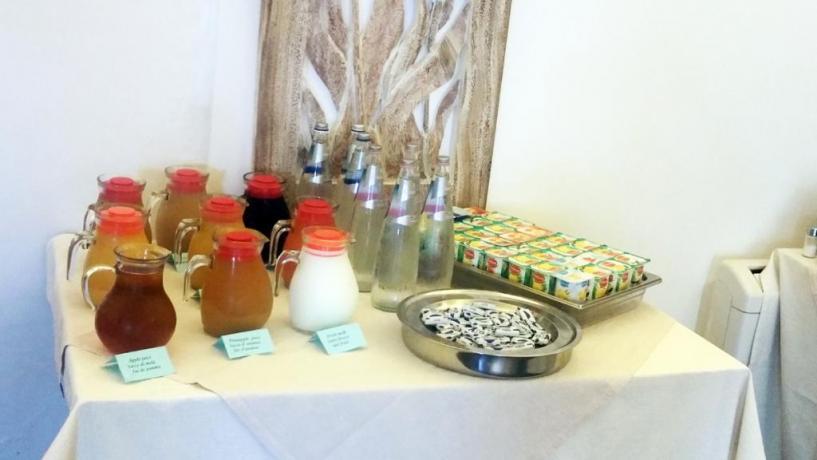 Albergo ad Alcamo, colazione tipica e continentale