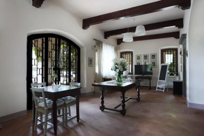 Villa Vacanza a Firenze: sala colazioni