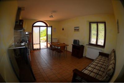 Appartamenti con camino a Gubbio