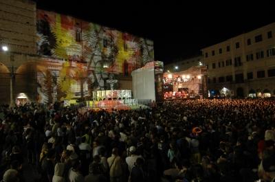 Piazza principale di Perugia