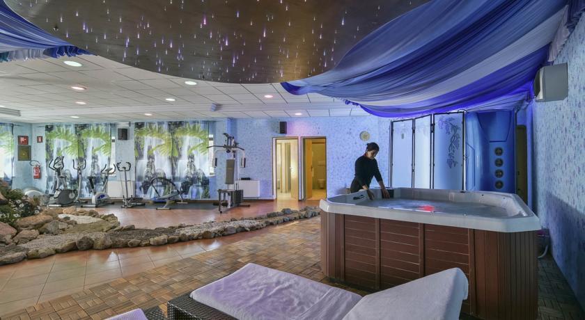 Centro benessere dell'albergo Amiata