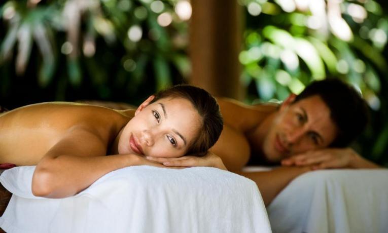 SPA con massaggio di coppia