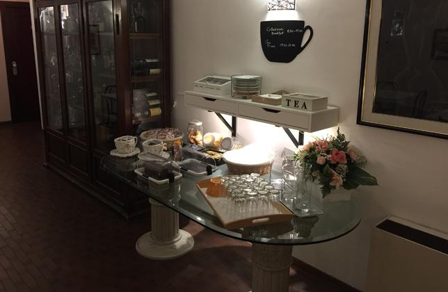 Colazione a Buffet in Hotel Aprilia