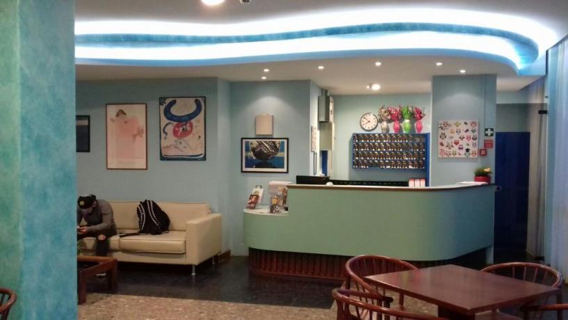 Reception hotel a Pesaro vicino stazione