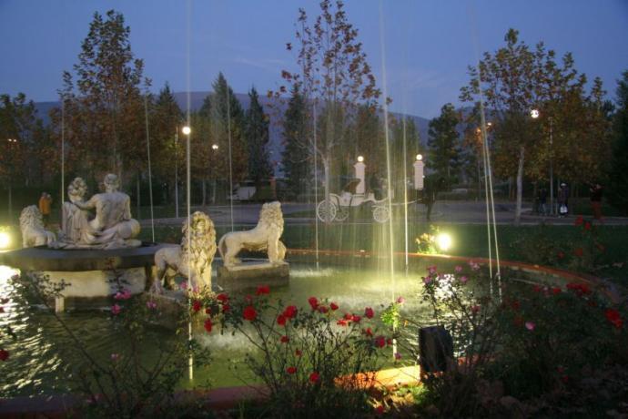 Parco delle Terme a Spello hotel e benessere