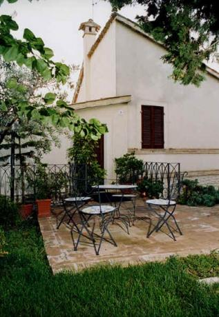 bed and breakfast, con giardino privato