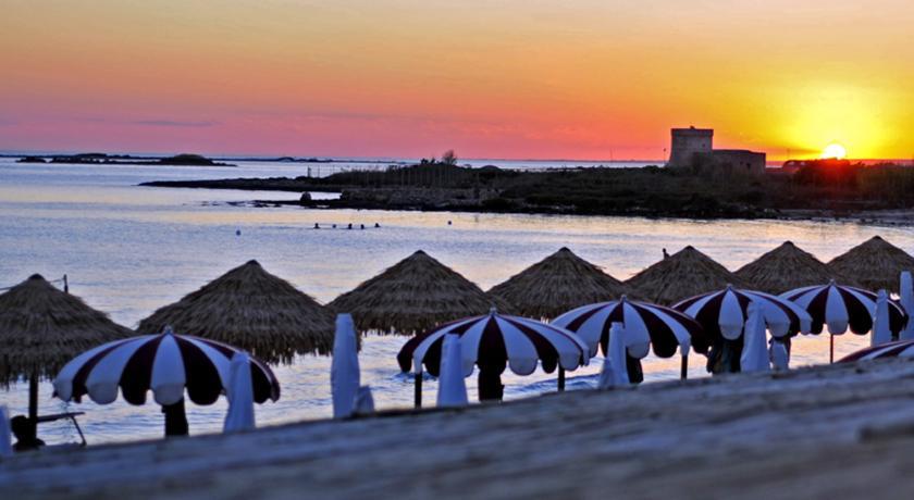 Hotel a Porto Cesareo con spiaggia privata