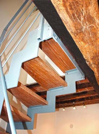 s3-6 scala prefabbricata gradini in legno