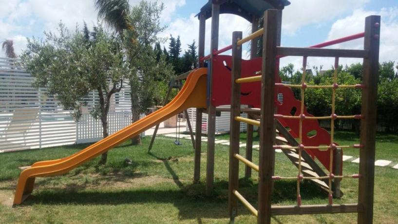 Parco giochi bambini hotel3stelle Trapani