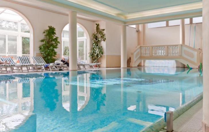 Centro Benessere con piscina riscaldata
