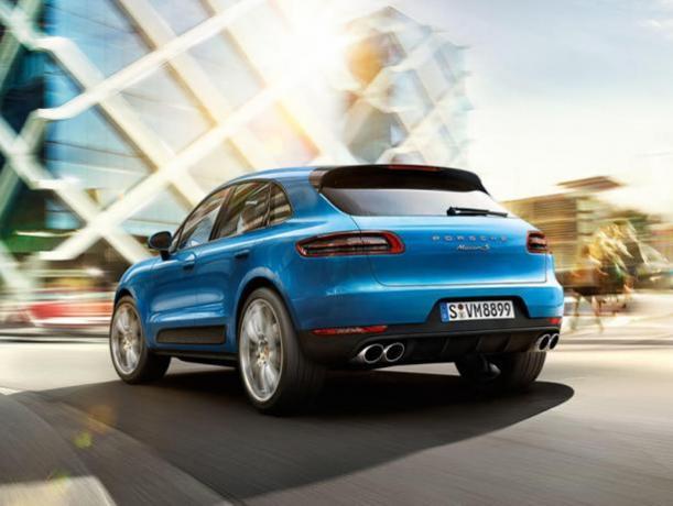 SUV Porsche Macan offerta Noleggio lungo termine