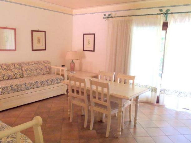 Soggiorno appartamento residence ad Arzachena