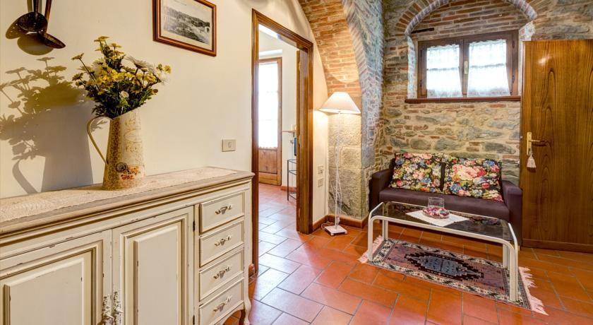 Appartamento con camino a Cortona in Agriturismo