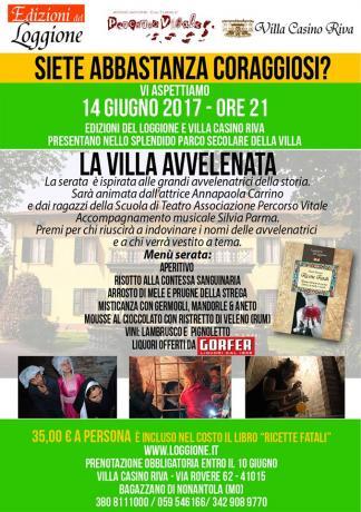 Bagazzano di Nonantola 14 Giugno - La Villa Avvelenata
