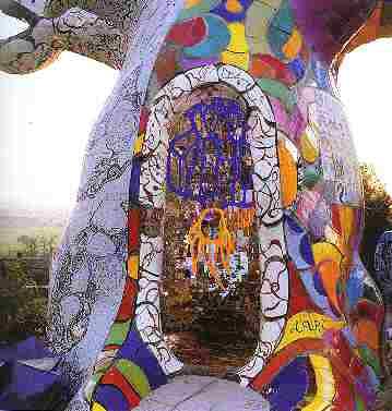 Garden of Tarots of Niki de Saint Phalle