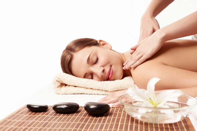 Massaggio rilassante in Spa