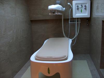 Sala trattamenti benessere