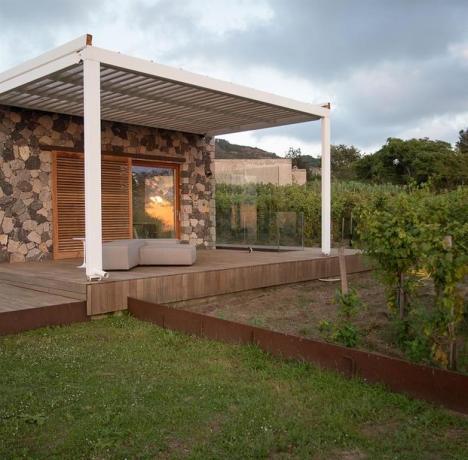 Residenza a Lipari con appartamenti-vacanza con patio