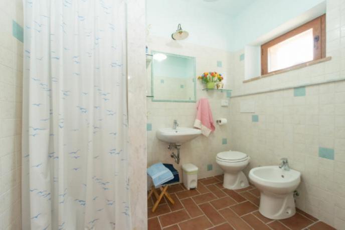 Appartamento Vacanza Bagno con  bidet e doccia