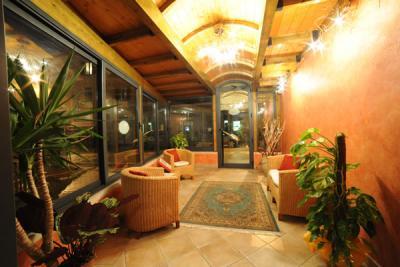 Salottino per gli ospiti hotel vicino Gubbio