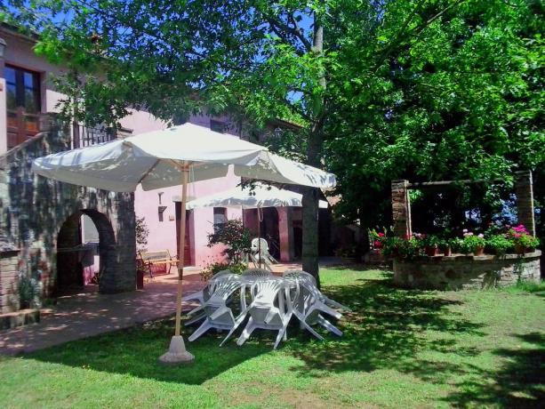 Casale rustino con patio esterno attrezzato Castiglione-del-Lago