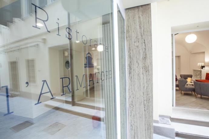 Ristorante L'Armatore hotel Finale Ligure