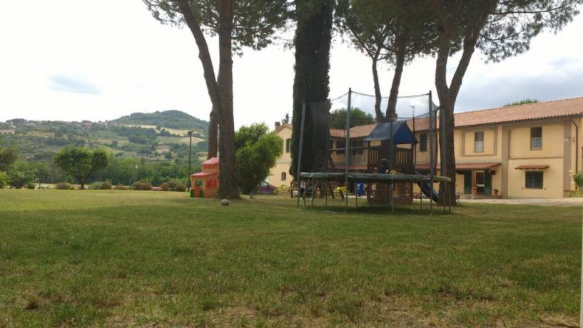 Area Giochi Bambini, Agriturismo vicino Perugia
