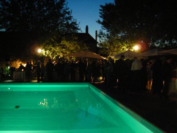 Feste in piscina con Buffet Residence Piediluco